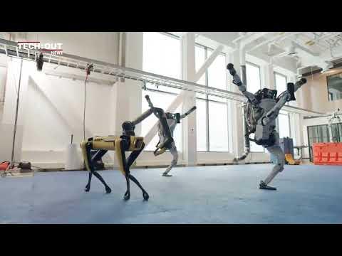 Robots doing the Robot!