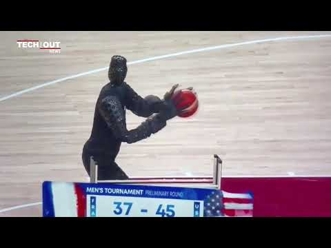 The Robot Basketball Player
